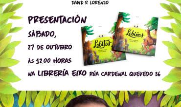Presentación de LOBIÑOS, album ilustrado por David R. Lorenzo