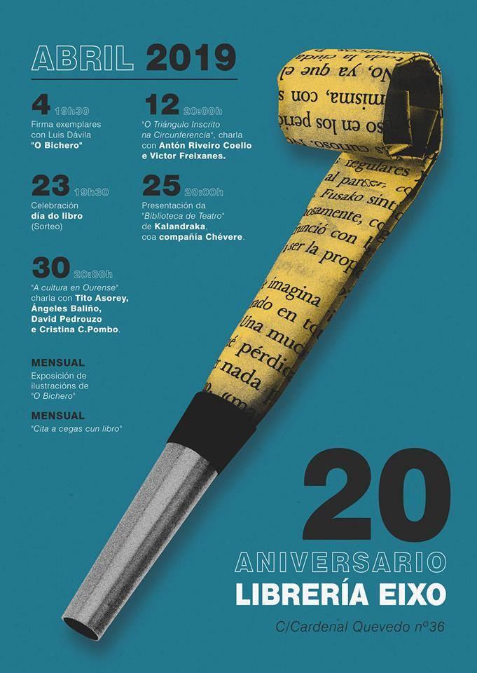 EN ABRIL, 20 ANIVERSARIO DE EIXO.